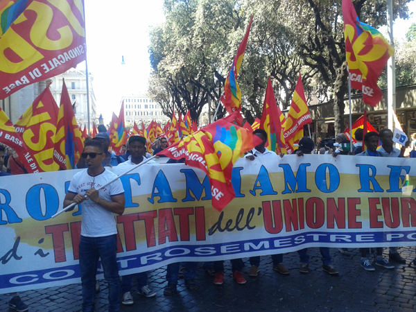 C'è chi dice no! Oggi a Roma la prima manifestazione contro Renzi apre il Controsemestre popolare