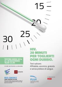PLUS Onlus: Test salivari per Hiv a Bologna