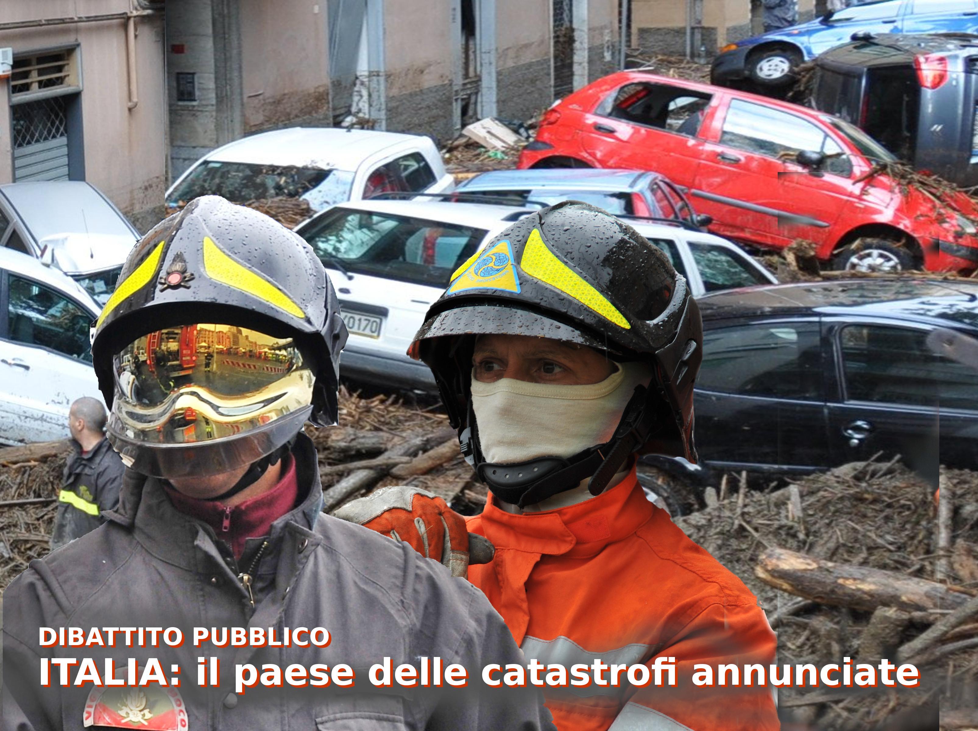 Usb denuncia il disastro idrogeologico del nostro paese per non fermarsi a Genova!