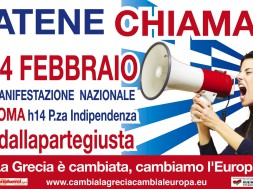 Manifestazione per la Grecia - Atene Chiama