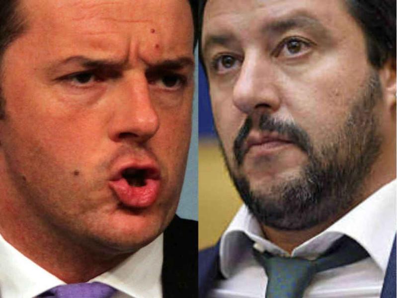 ll filo che unisce Renzi e Salvini…