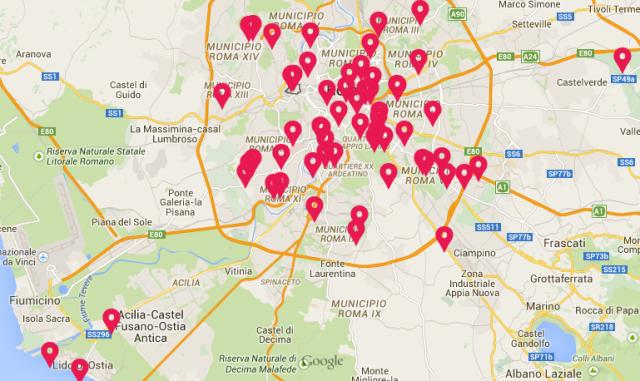 SPIAZZIAMOLI: 80 piazze a Roma per fare Comunità