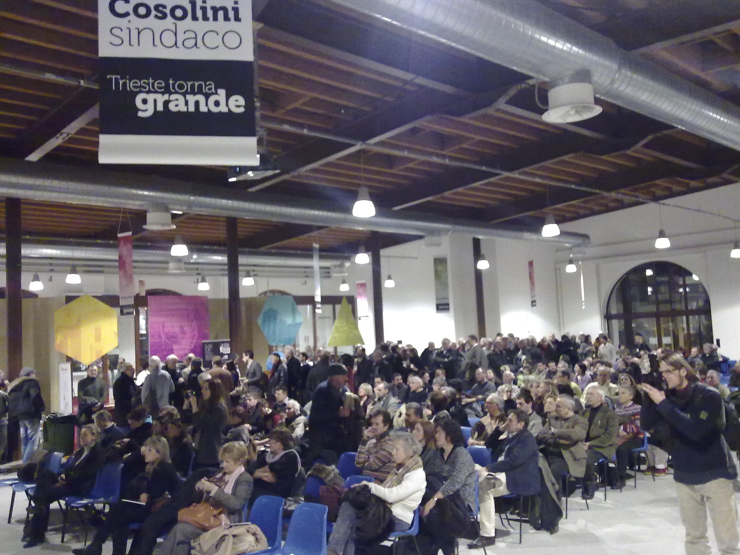 Elezioni a Trieste. Parte Cosolini
