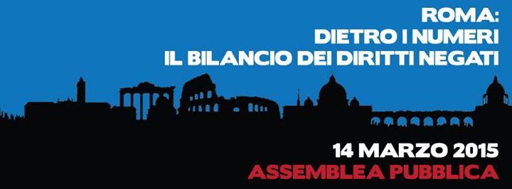 ROMA NON SI VENDE: manifestazione 19 marzo