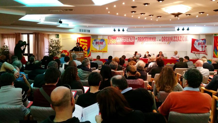 Conferenza di Organizzazione USB per rappresentare al meglio i lavoratori