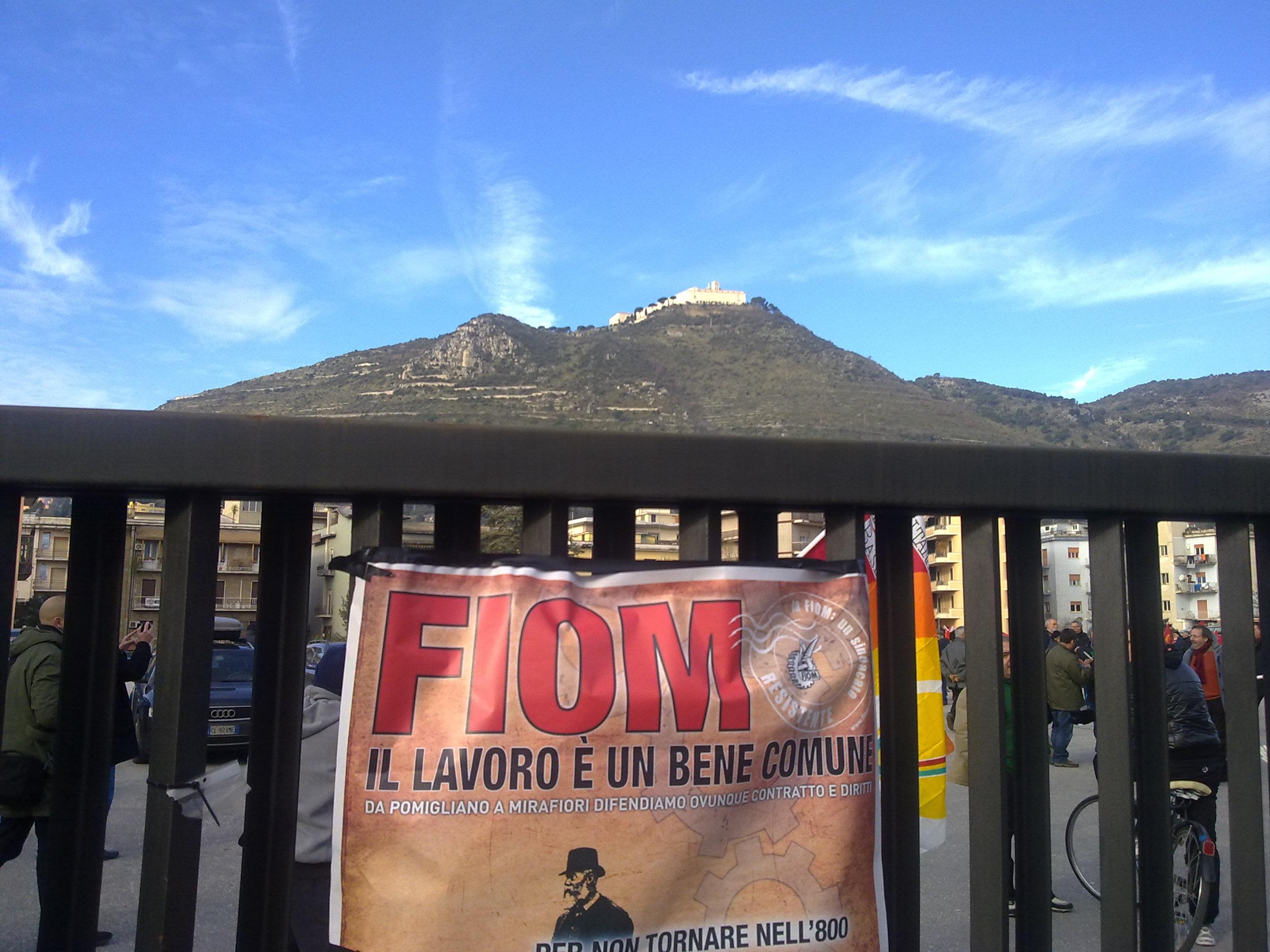 FIOM a Cassino