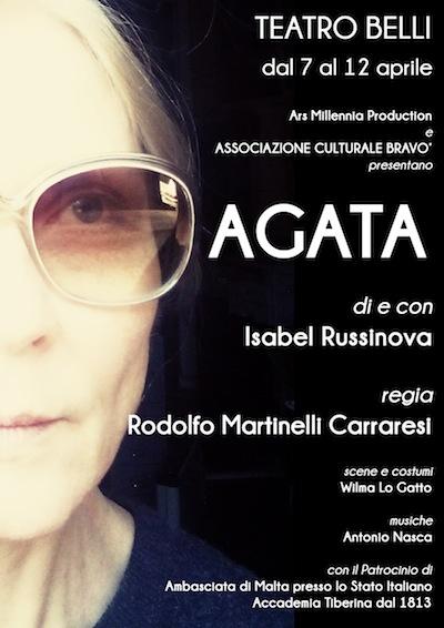 AGATA BARBARA, o il teatro sociale di Isabel Russinova