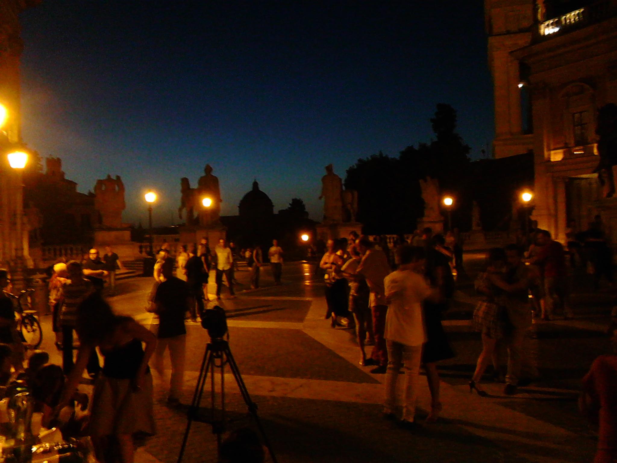 S. Maria della Pietà: balli in Campidoglio per l'uso pubblico