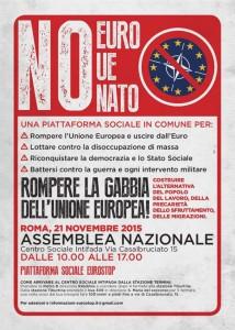 NO EURO, NO UE, NO NATO