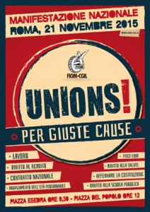 FIOM : Unions per le giuste cause