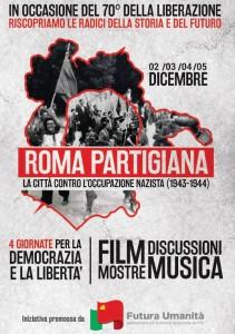 Manifesto Roma Partigina