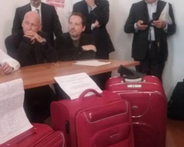 Tommaso Fattori e Paolo Sarti