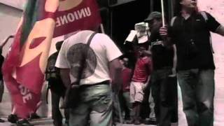milano-5-settembre-2011-blitz-usb-borsa-occupata-e-presidio-in-piazzaffari-rainews24