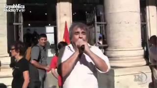 roma-10-agosto-2011-protesta-usb-davanti-palazzo-chigi-repubblica-tv