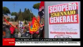 roma-27-gennaio-2012-rainews-3-manifestazione-sciopero-generale
