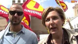roma-28-maggio-2014-trasporti-presidio-al-ministero-usb-tv