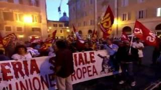 roma-7-settembre-2011-corteo-navona-plebiscito-montecitorio-corriere-tv