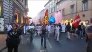 roma-7-settembre-2011-da-piazza-navona-a-montecitorio-ansa