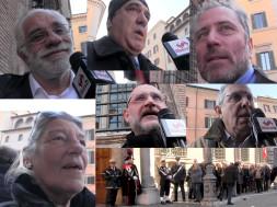 Commemorazione Cossutta - interviste