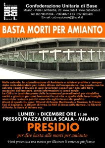 Basta Amianto CUB