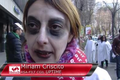 Miriam Criscito lavoratrice Poste Italiane