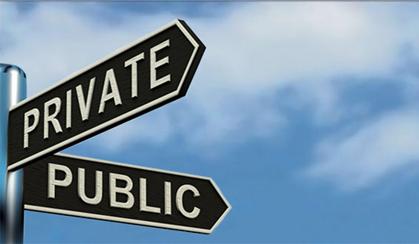 Civitavecchia in controtendenza: più pubblico e meno privato