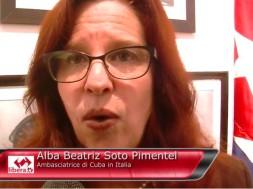 Alba Beatriz Soto Pimetel Ambasciatrice di Cuba