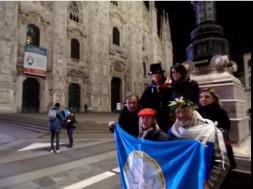 No war flash mob a Milano Gruppo