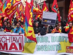 Schiavi Mai - Lavoratori GLS Piacenza