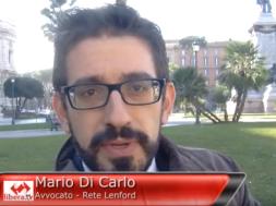 Intervista a Mario di Carolo sul DDL Cirinnà