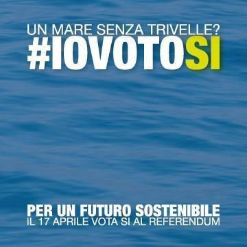 USB contro le trivellazioni perpetue invita a votare sì al referendum del 17 Aprile.