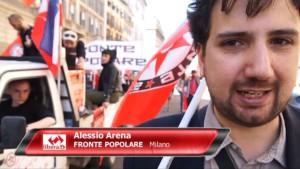Alessio Arena Fronte Popolare
