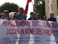 Manifestazione Amianto