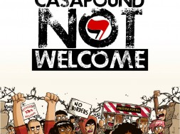 CASAPOUND NOT WELCOME