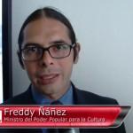 Freddy Nanez Ministro Cultura Venezuela