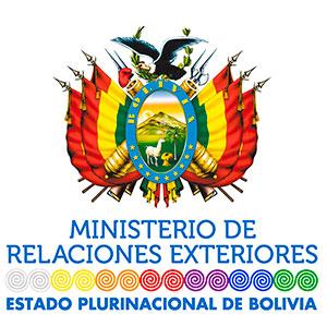 Logo Ministero Esteri Bolivia