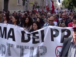 Manifestazione a Roma NO TTIP