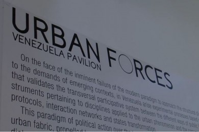 Urban Forces - Architettura - Padiglione Venezuela