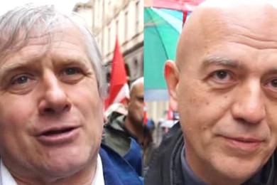 Giurgio Airaudo e Marco Rizzo