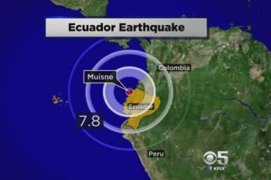 Terremoto in Ecuador