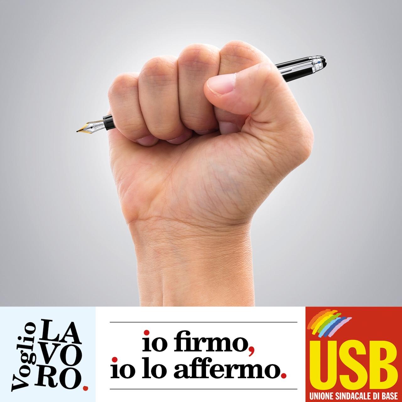 VOGLIO LAVORO E STATO SOCIALE: UNA PIATTAFORMA, UNA FIRMA!