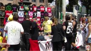Banco di LiberaRete al Gay Pride 2