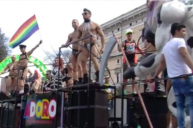 Carro Gay Pride Roma