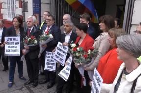 Londra contro l'omofobia