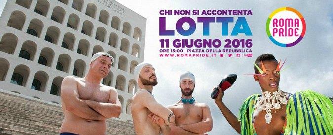 GAY PRIDE – ROMA 2016 : Noi ci saremo