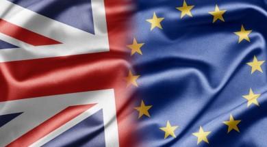 brexit due bandiere