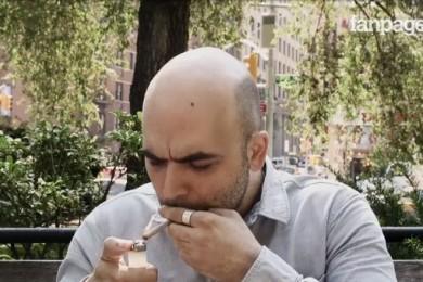Saviano per la cannabis legale