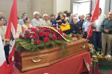 I funerali di Maurizio Musolino