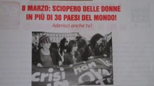 8 marzo sciopero