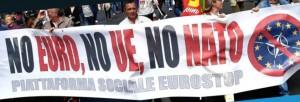 CONTRO IL VERTICE A ROMA PER I 60 ANNI DELLA UE